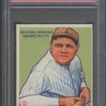 Bob's Blog: 1933 Goudey Babe Ruth PSA 9