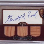 Phenomenal Pulls: Gerald Ford Presidential Cut Signature