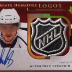 Phenomenal Pull: Ovechkin Auto 1/1 NHL Logo Shield!