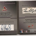 Phenomenal Pull: Albert Pujols/Enos Slaughter 1/1 Autograph