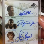 Phenomenal Pull: Magic Jordan Bird Triple Auto!