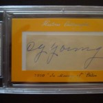 Phenomenal Pull: Cy Young 1/1 Cut Auto