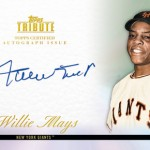 Topps Announces Deal with Willie Mays