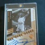 Phenomenal Pull – Michael Jordan Autograph from 2010/11 UD Ultimate Basketball