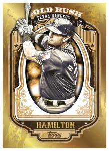 Josh Hamilton Gold Rush Card