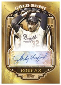 Sandy Koufax Gold Rush Auto