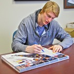 Buffalo Sabres Tyler Myers Visits Dave and Adam's
