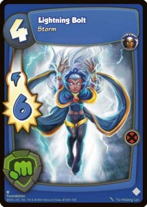Marvel Super Hero Online Storm Card
