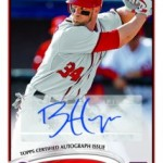 Topps Announces Bryce Harper Rookie Card Plans