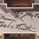 Paying $25,000 for Panini Limited Cuts Babe Ruth 1/1!