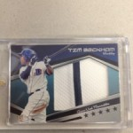 June 'Hit of the Month' Prospect Entry #11 – Low #'d Game Used Relic