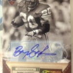 July 'Hit of the Month' Prospect Entry #1 – Barry Sanders Autograph