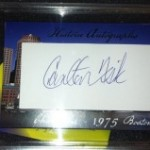 July 'Hit of the Month' Entry #10 – East Coast Autographs, FISK