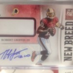 July 'Hit of the Month' Entry #16 – Robert Griffin III Low Numbered Gem