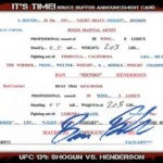 2012 Topps UFC Bloodlines – Sneak Peek!!