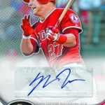 Topps Finest MLB Redemption # 3 – Mike Trout