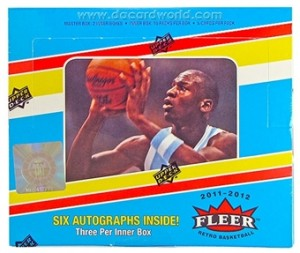 2011/12 Fleer Retro Basketball Box