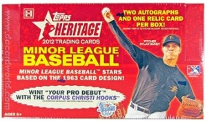 2012 Topps Heritage Minor League Baseball