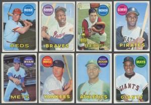 1969 Topps Baseball Set