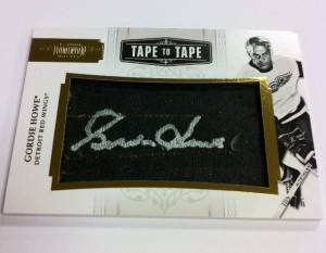 Gordie Howe Tape to Tape Auto