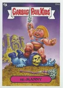 2012 Topps Garbage Pail Kids Brand New Series He-Manny