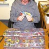 Bob with T206 Baseball Cards