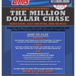 2013 Topps Baseball Series 1 Takes Interactivity to a New Level with the Million Dollar Chase Game