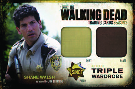 Walking Dead Season 2 Triple Wardrobe Shane Dave Adams News
