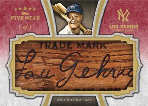 Gehrig Bat Plate