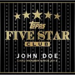 Topps Introduces the Five Star Club!