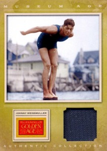 2012 Panini Golden Age Baseball Museum Age Johnny Weissmuller