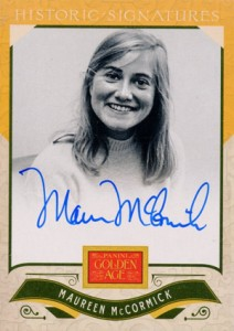 2012 Panini Golden Age Historic Signatures Maureen McCormick