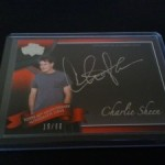 Phenomenal Pull: Charlie Sheen Topps American Pie Autograph!