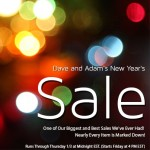 Dave and Adam's Massive New Year's Sale Starts Friday at 4 PM EST!