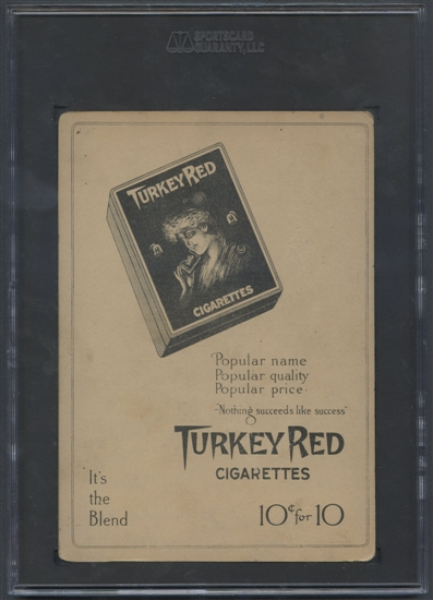 Walter Johnson Turkey Red