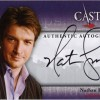 2013 Castle Seasons 1 and 2 Nathan Fillion Autograph B