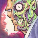 2013 Cryptozoic Batman the Legend Sketch Card 02 Andy Price Two-Face