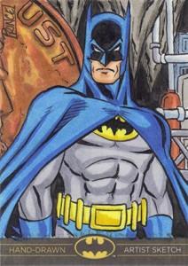 2013 Cryptozoic Batman the Legend Sketch Card 10 Buddy Prince