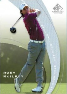2012 SP Game Used Golf Rory McIlroy