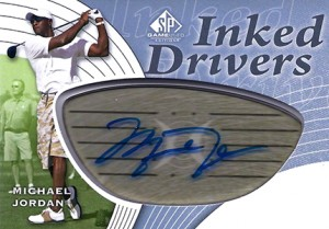 2012 SP Game Used Inked Drivers Michael Jordan