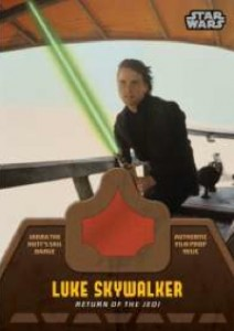 2013 Topps Star Wars Jedi Legacy Relic Jabba's Sail Barge