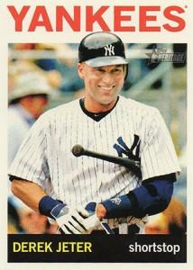 2013 Topps Heritage Baseball Action Variations Derek Jeter