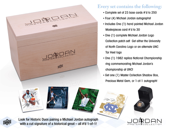 Michael Jordan Master Collection