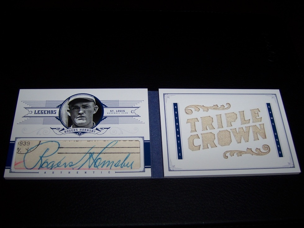 Rogers Hornsby Cut Auto