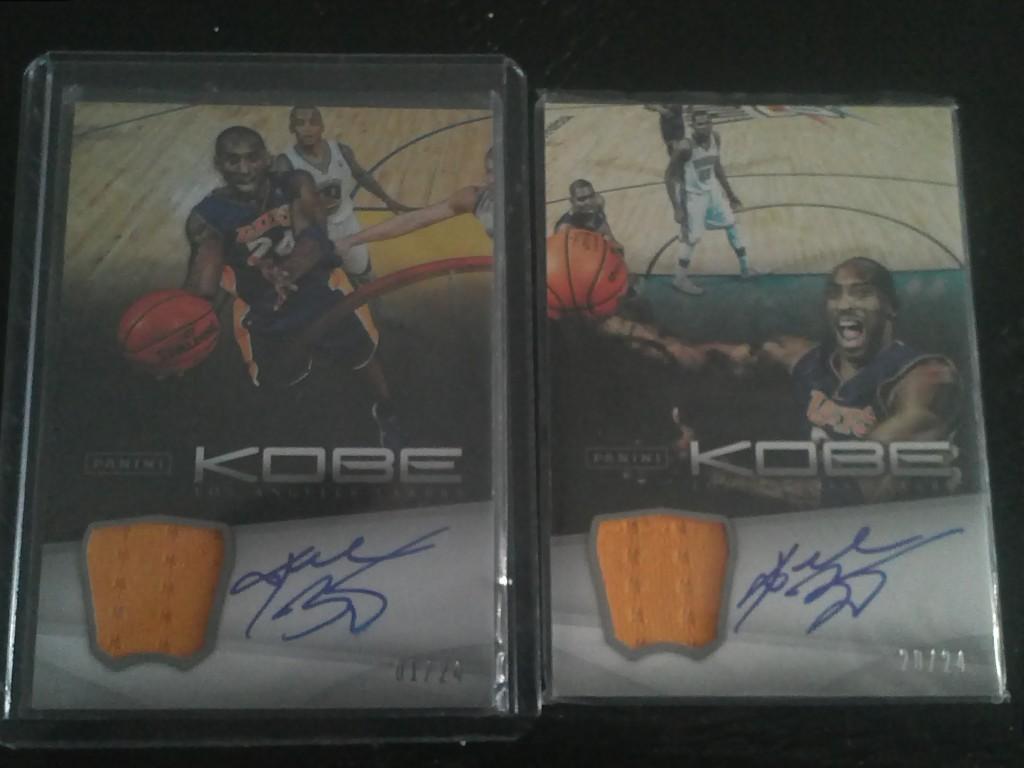 Kobe Bryant Autographs