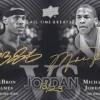 Jordan Lebron Dual Autograph