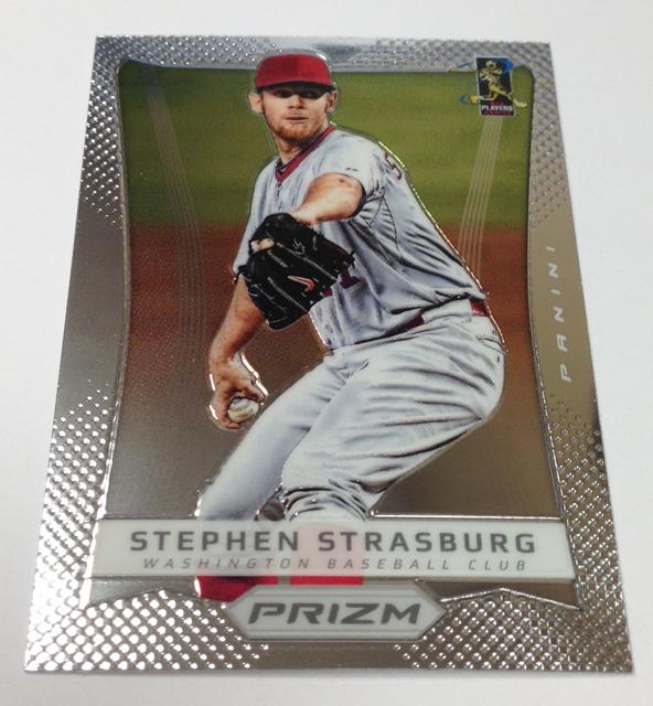 2012 Prizm Baseball Strasburg
