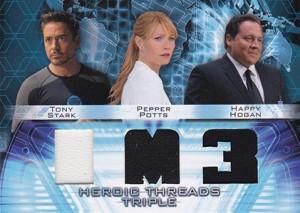 2013 Upper Deck Iron Man 3 Heroic Threads HTT-7