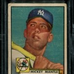 1952 Topps Mickey Mantle Baseball Cards in Stock