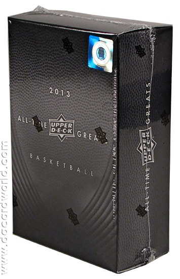 2012/13 UD All Time Greats Basketball Box